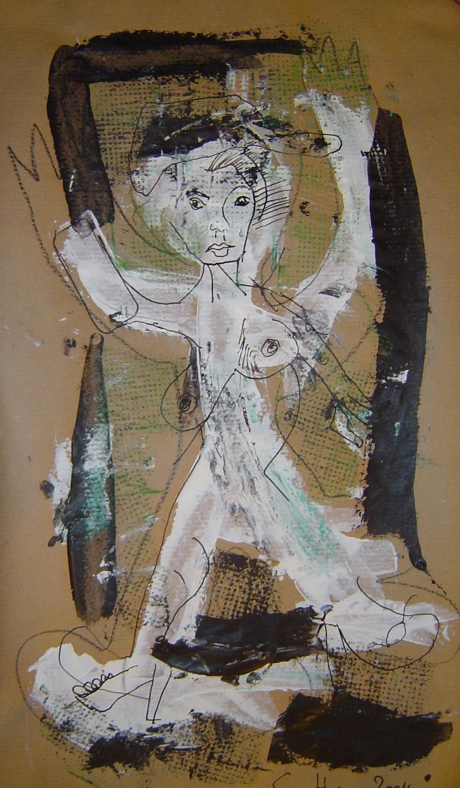 Gulliver oder Glück durchdringt die Welt (c) Zeichnung von Susanne Haun