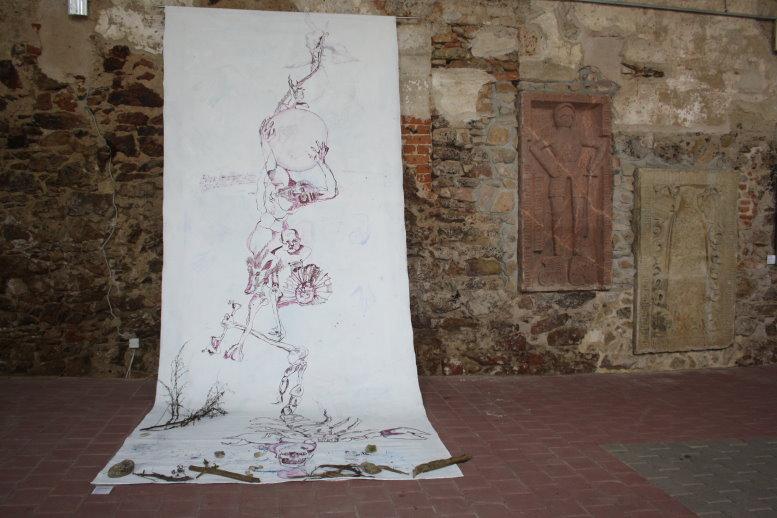 Fertig gehängt (c) Foto von Susanen Haun