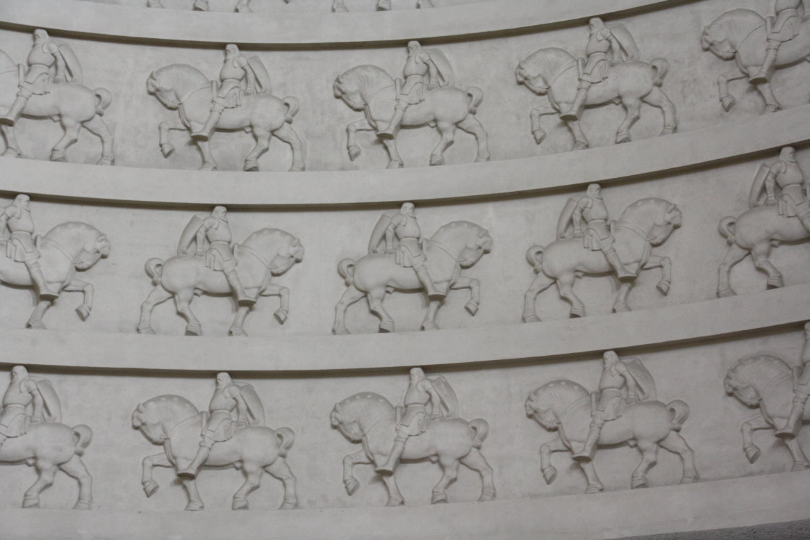 Pferde in der Kuppel (c) Foto von Susanne Haun