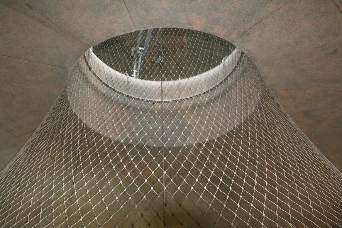 Am obersten Punkt der Kuppel des Vökerschlachtdenkmals (c) Foto von Susanne Haun