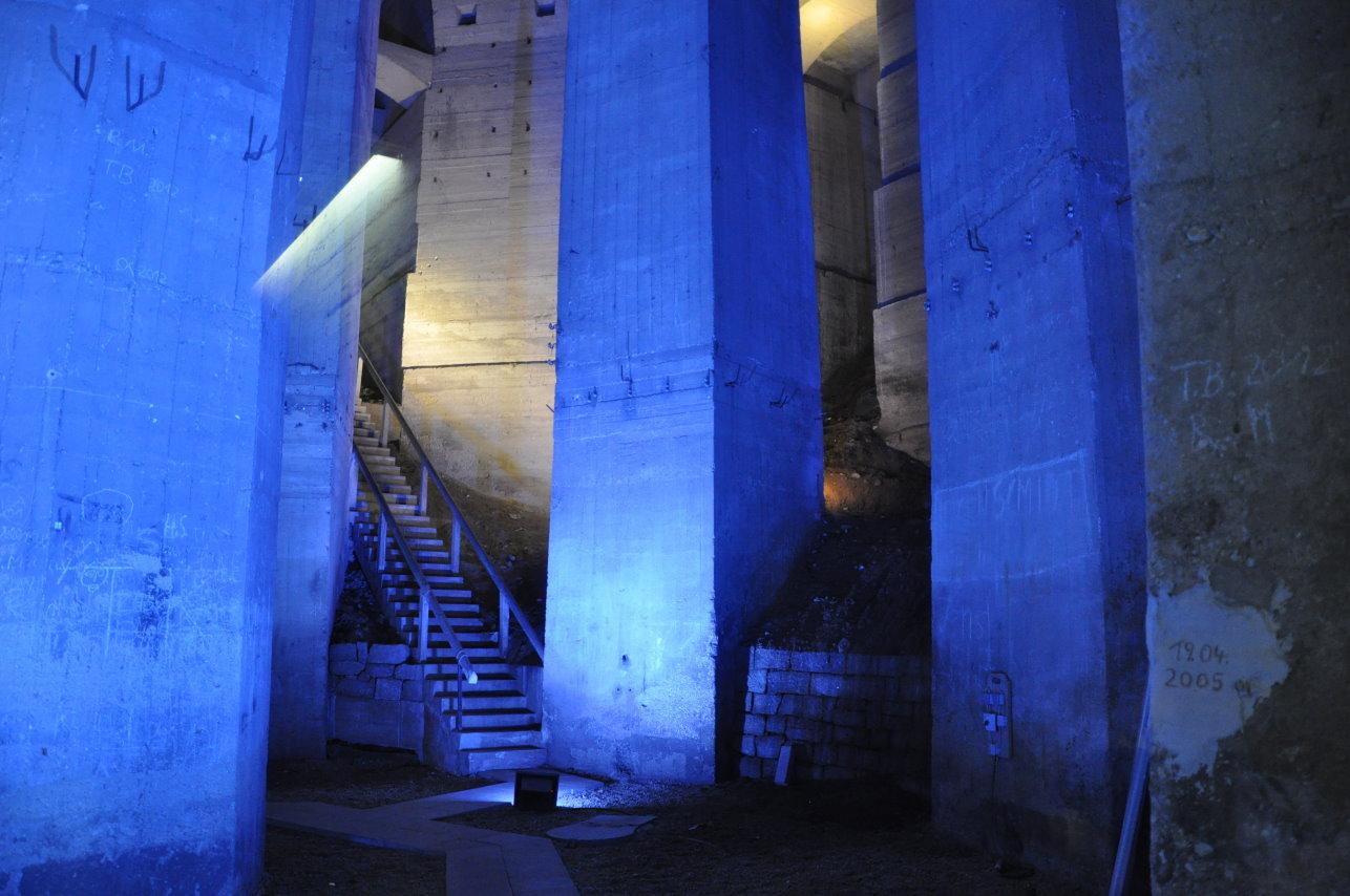 Fundament des Vökerschlachtdenkmal (c) Foto von M.Fanke