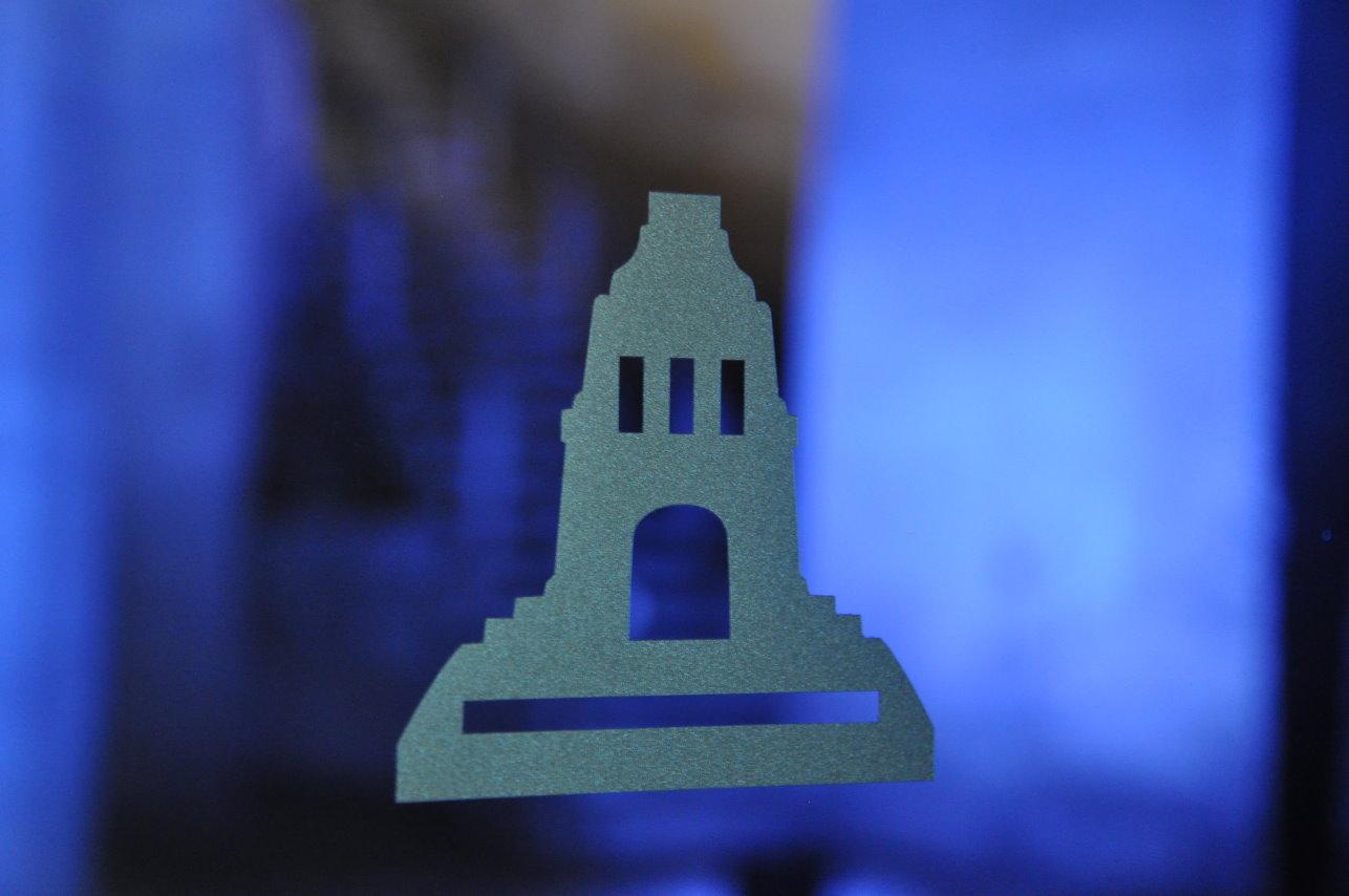 Logo des Vökerschlachtdenkmal (c) Foto von M.Fanke