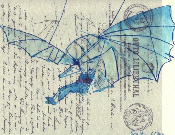 Blatt 47 (c) Susanne Haun Der Traum vom Fliegen