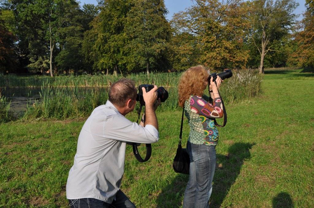 Der Fotograf und ich (c) Foto von M.Fanke