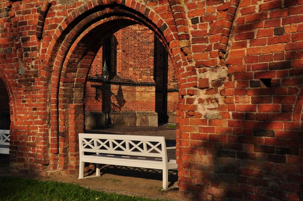 Die Reste des Quergebäudes vom Bad Doberaner Münster (c) Foto von M.Fanke