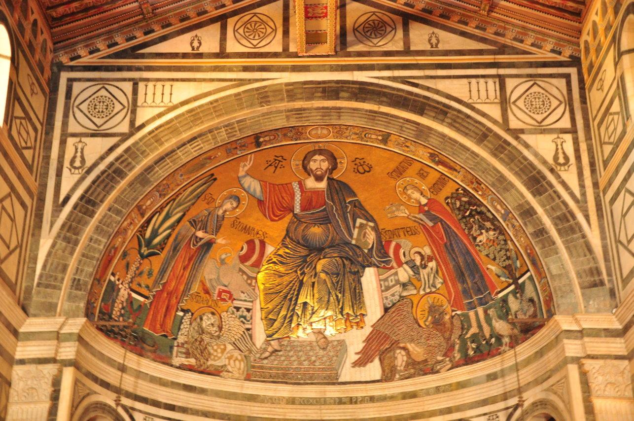 Die Apsis der Basilica di San Miniato al Monte (c) Foto von M.Fanke