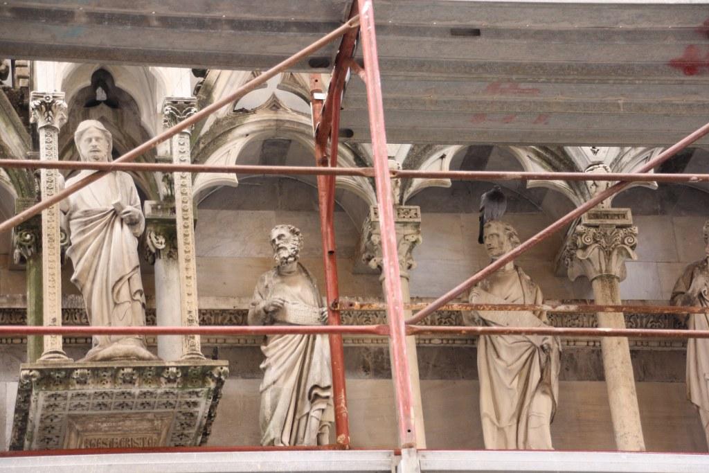 Eine Kapelle am Arno wird renoviert (c) Foto von Susanne Haun