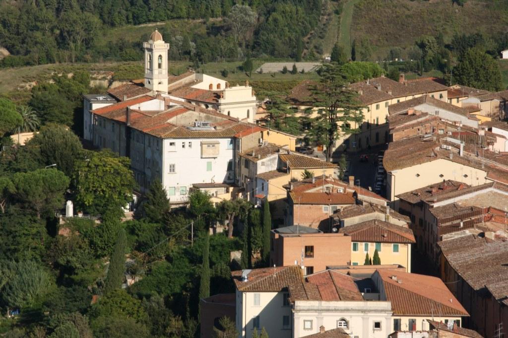 Blick über die Stadt San Miniato (c) Foto von Susanne Haun
