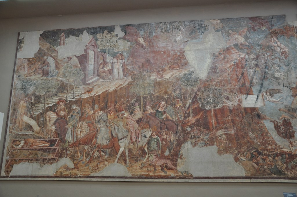 Buffalmaccos gemalter -Triumph des Todes- (c) Foto von M.Fanke