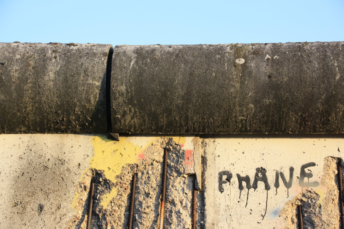 Am Mauermuseum (c) Foto von Susanne Haun