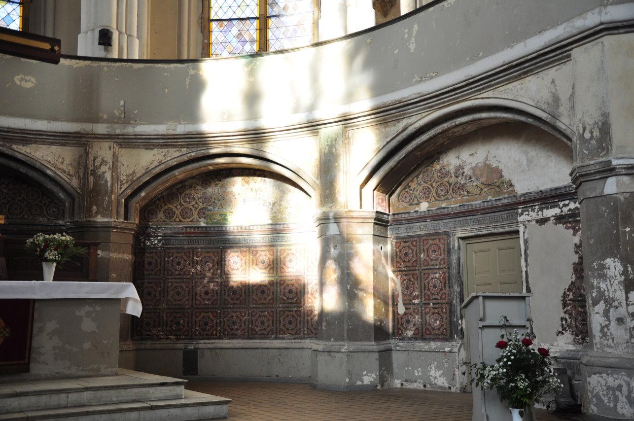 Zionskircheskirche Innenraum (c) Foto von M.Fanke