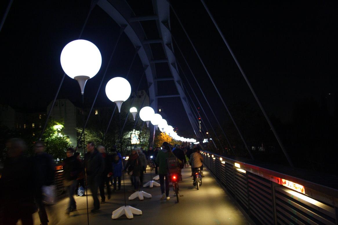 Ballon - Mauer - 25 Jahre Mauerfall 2014 (c) Foto von Susanne Haun