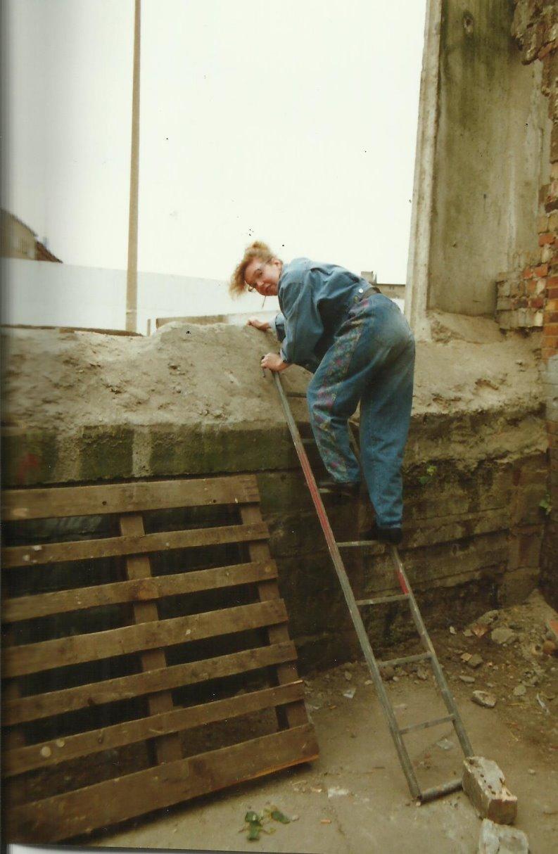 Mauerfall November 1989 Bernauer Strasse (c) Foto von Susanne Haun