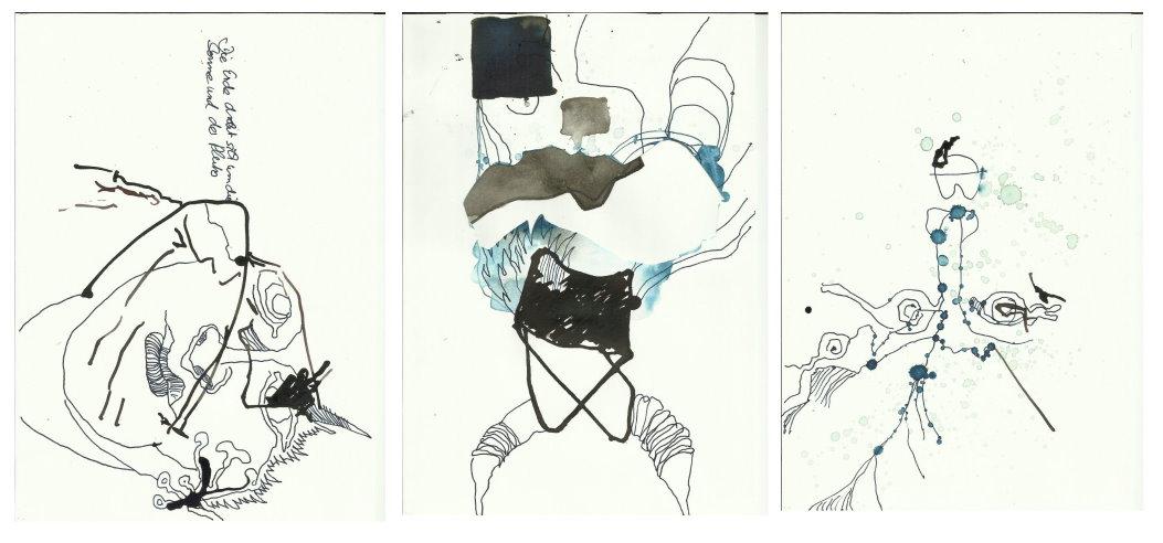 sammenzu (3teilig) – Version 4 (c) Zeichnung von J.Küster und S.Haun