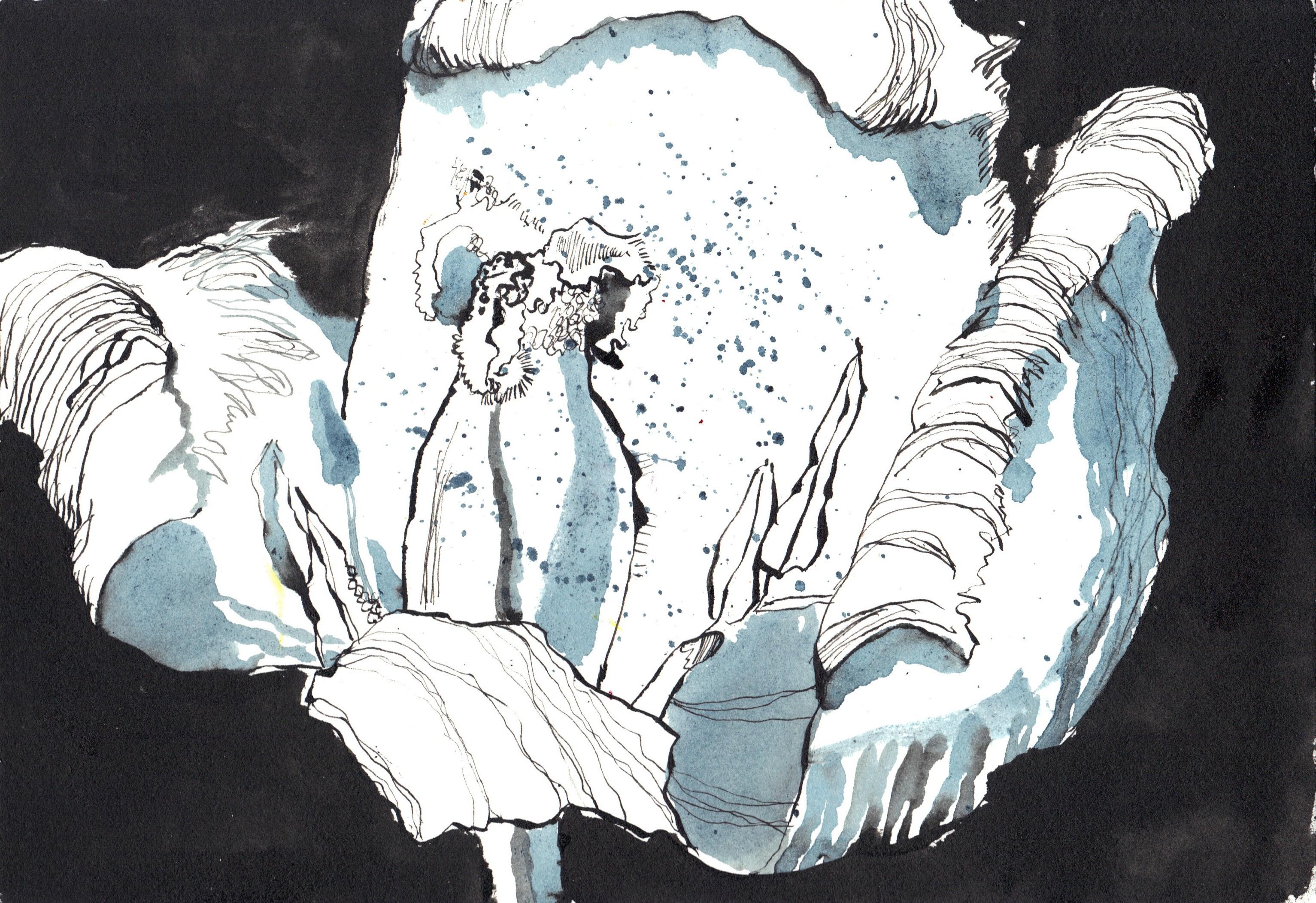 Was macht Bewusstsein aus (c) Zeichnung von Susanne Haun