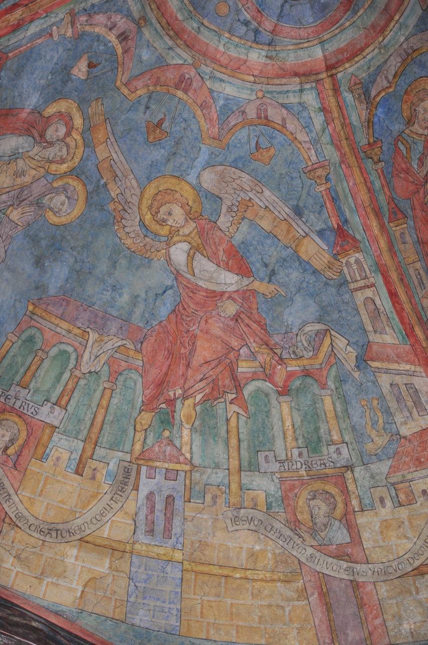 Engel am leeren Grab Christis (c) Foto von M.Fanke