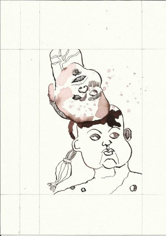 Bewusst Sein 3. Blatt Version 1(c) Zeichnung von Susanne Haun