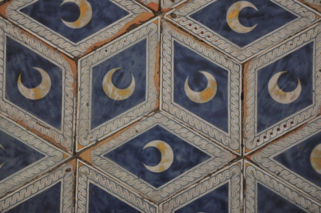 Boden in der Bibliothek des Siener Doms (c) Foto von M.Fanke
