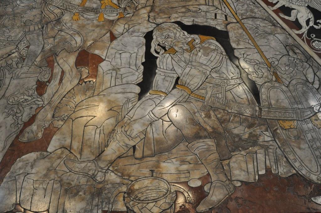 Bodenmosaik Dom von Siena (c) Foto von M.Fanke