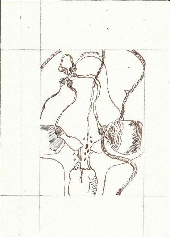 Dialog Bewusst-Sein Vers. 2 (c) Zeichnung von Susanne Haun