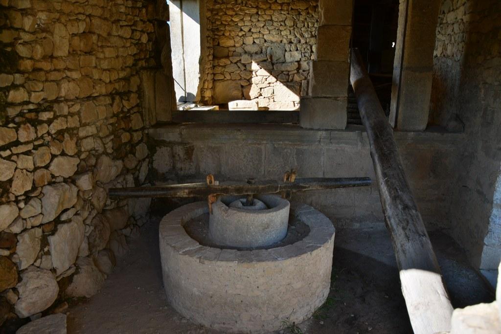 Ölmühle in Volubilis (c) Foto von M.Fanke