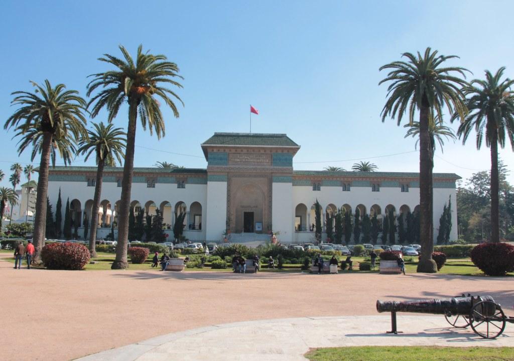 Justizpalast Casablanca (c) Foto von Susanne Haun