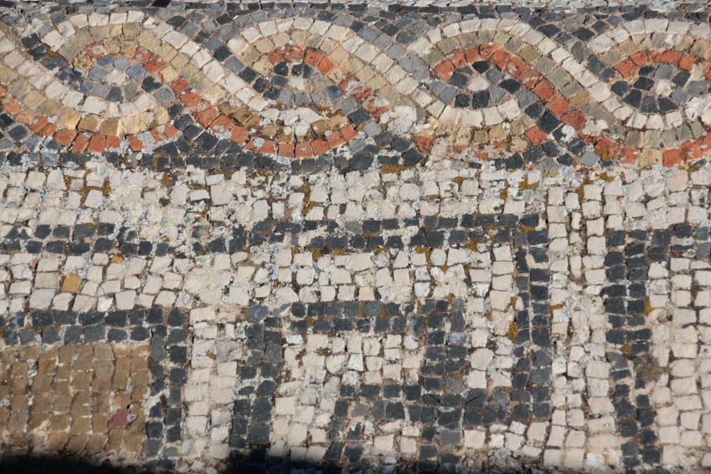 Mosaik in Volubilis (c) Foto von Susanne Haun