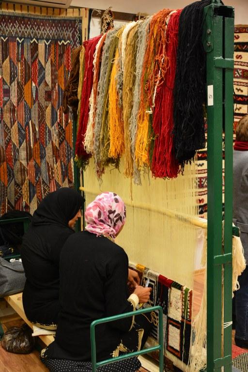 Marokko - in der Teppich Manufaktur (c) Foto von M.Fanke