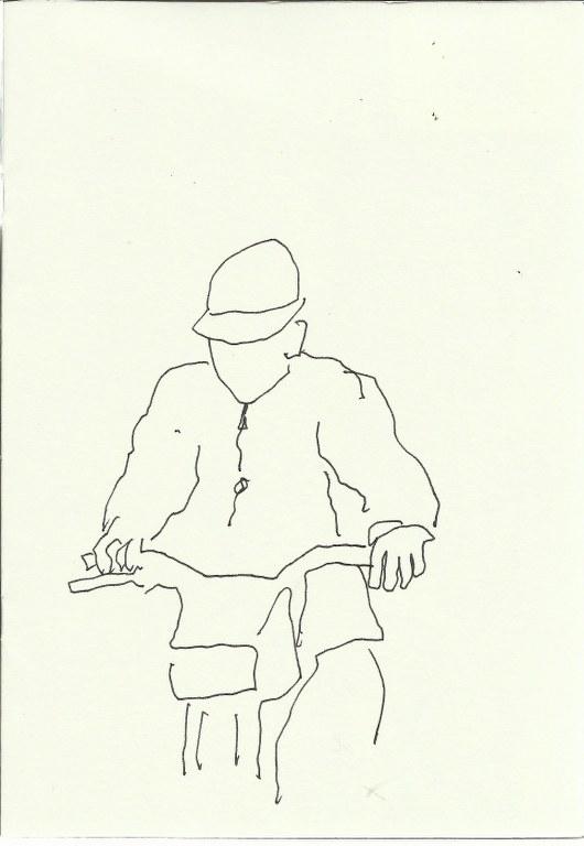 Casablanca (c) Zeichnung von Susanne Haun