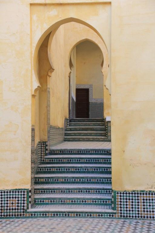 Meknes Mausoleum des Sultans Moulay Ismail (c) Foto von Susanne HaunMeknes Mausoleum des Sultans Moulay Ismail (c) Foto von Susanne Haun