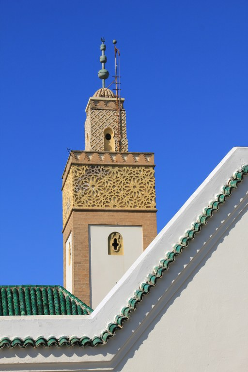 Moschee am Königspalast in Rabat (c) Foto von Susanne Haun