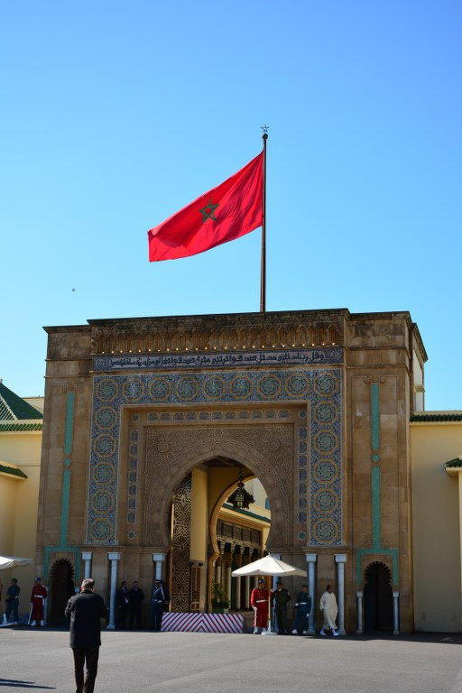 Königspalast in Rabat (c) Foto von M.Fanke