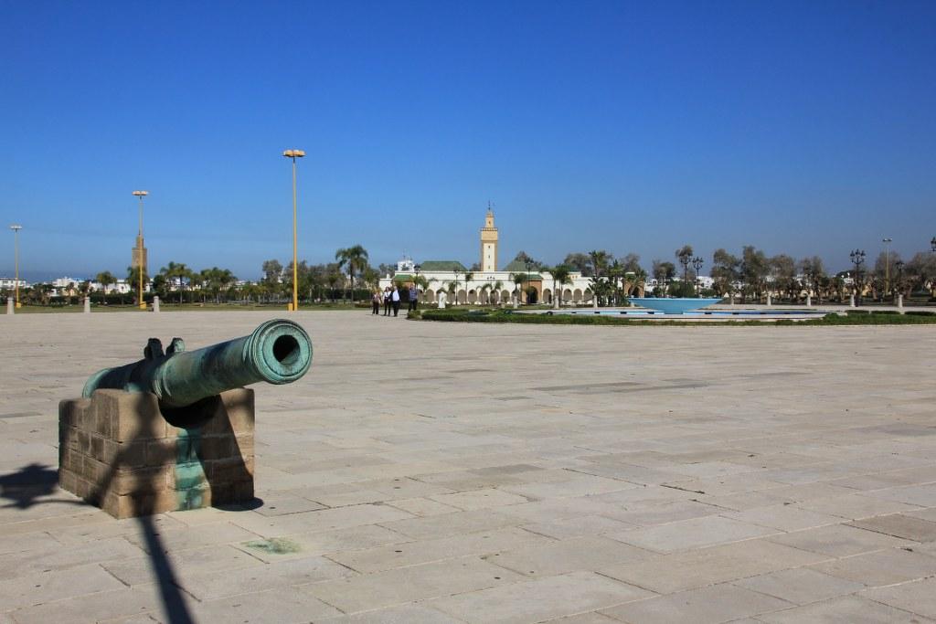 Platz vor dem Königspalast in Rabat (c) Foto von Susanne Haun