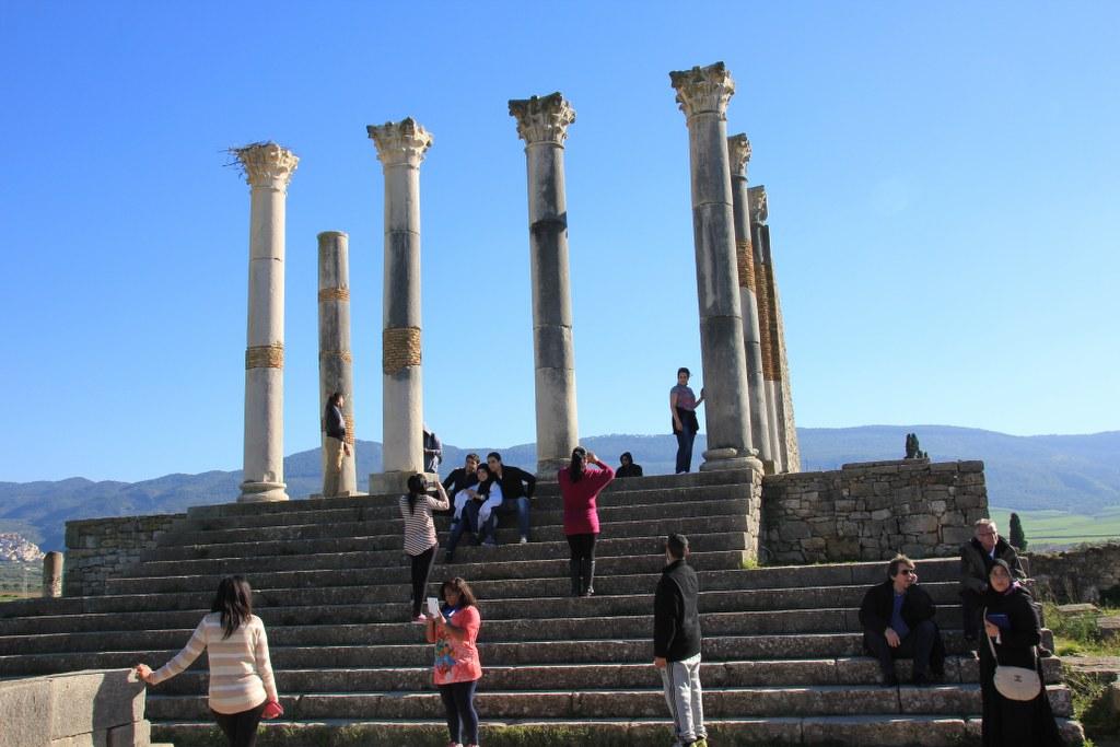 Tempelruine in Volubilis (c) Foto von Susanne Haun