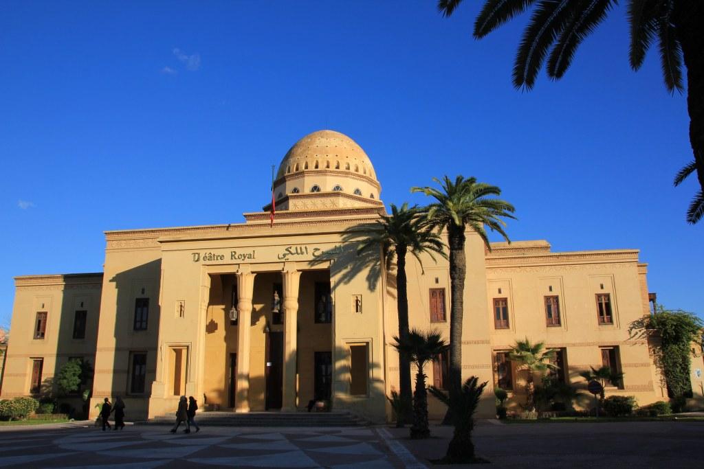 Marokkanisches Nationaltheater (c) Foto von Susanne Haun