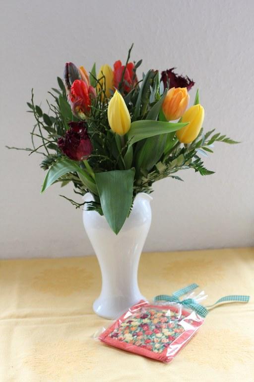 Doppelte Blumen von Susanne Broer (c) Foto von Susanne Haun