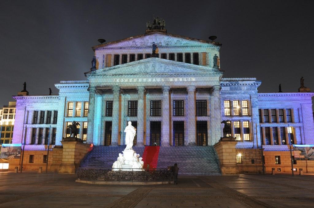 Konzerthaus 2013 Festival of Lights (c) Foto von M.Fanke