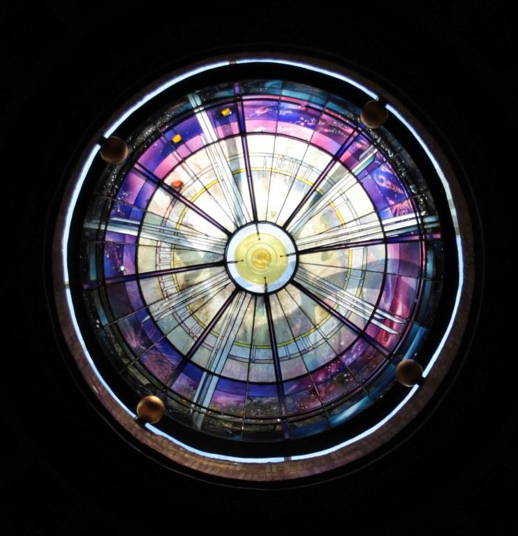 Glasabschluss Kuppel - Santa Maria degli Angeli (c) Foto von Susanne Haun