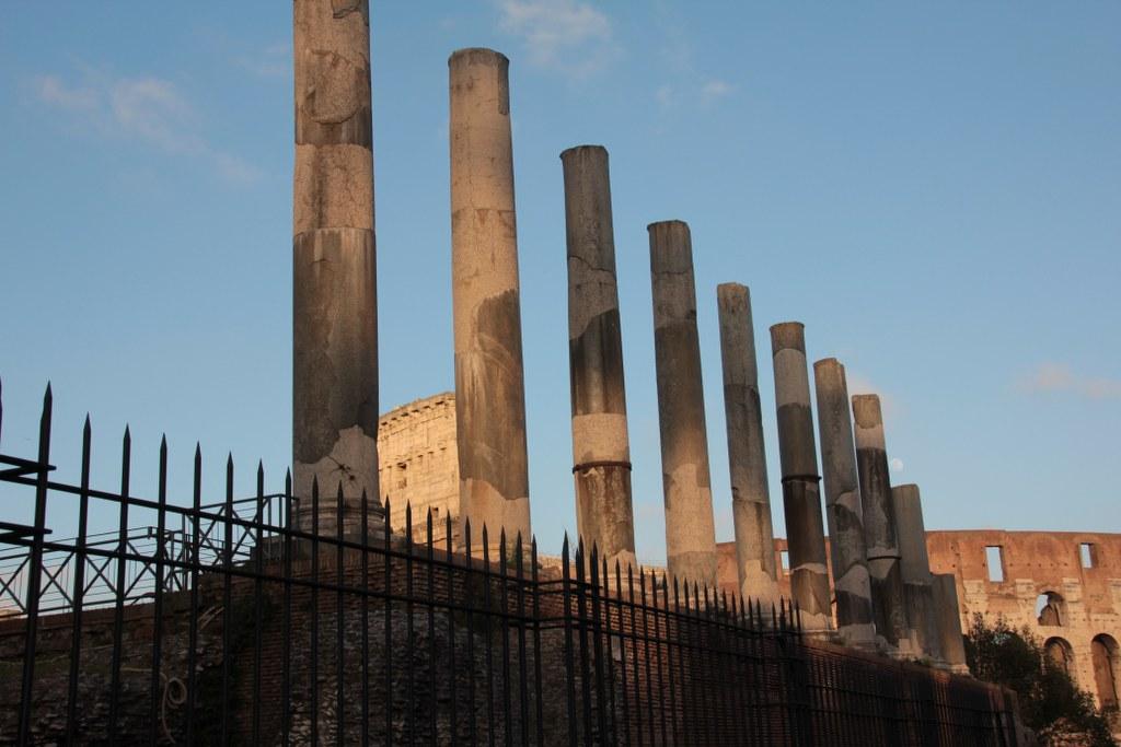Kolloseum vom Forum Romanum aus (c) Foto von Susanne Haun