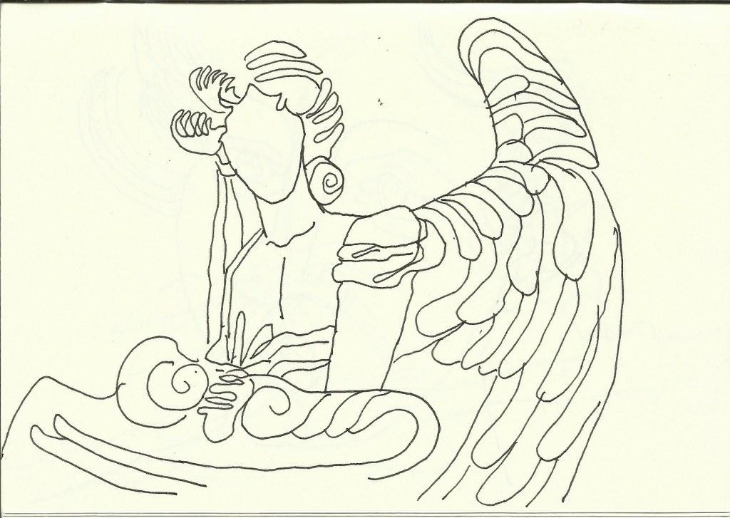 Santa Maria degli Angeli (c) Zeichnung von Susanne Haun