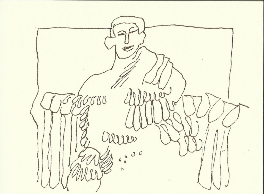 Titusbogen (c) Zeichnung von Susanne Haun