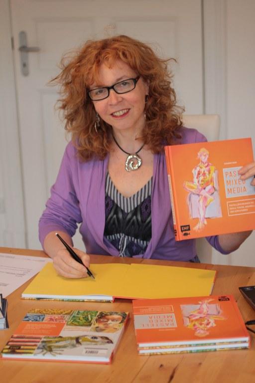 Susanne Haun Pastell Mixed Media (c) Foto von M.Fanke