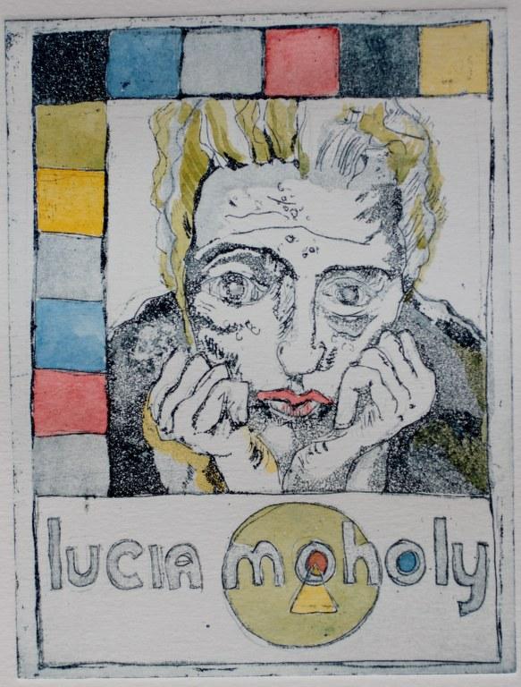 Lucia Moholy 1 von 10 (c) Radierung von Susanne Haun