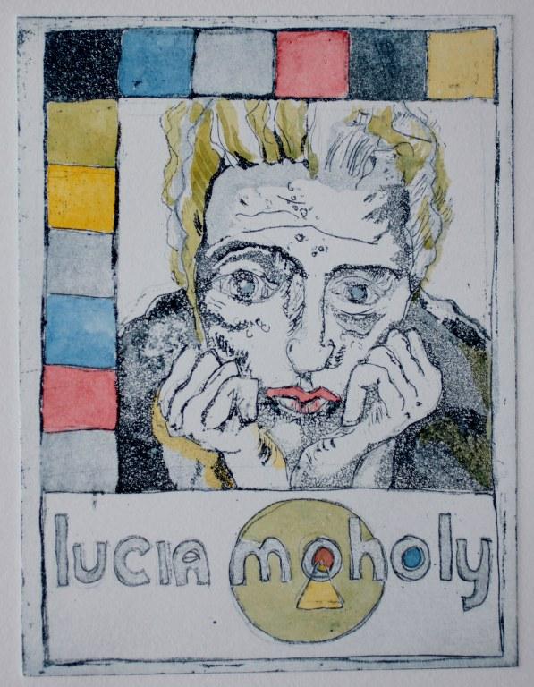 Lucia Moholy 2 von 10 (c) Radierung von Susanne Haun