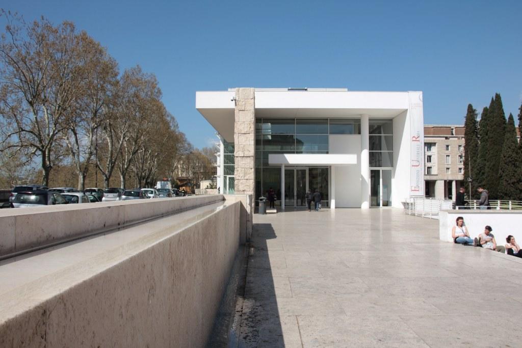 Die geschlossene Ara Pacis Augustae (c) Foto von Susanne Haun