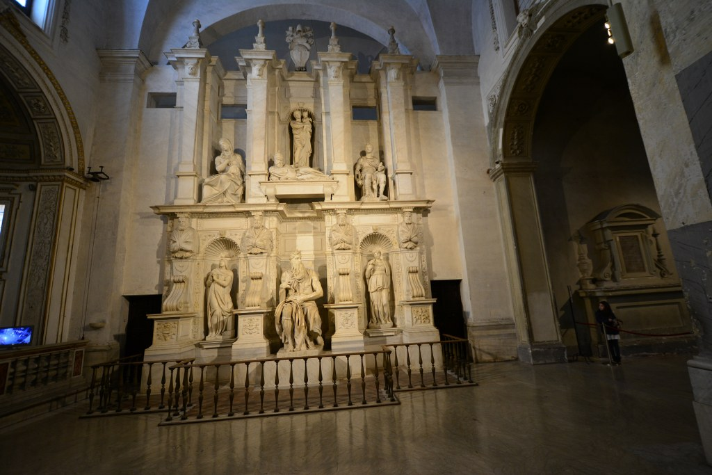 Michelangelos Kenotaph für Papst Julius II. (c) Foto von M.Fanke