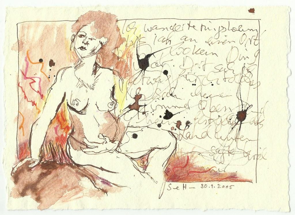 Erkenntniskraft (c) Zeichnung von Susanne Haun