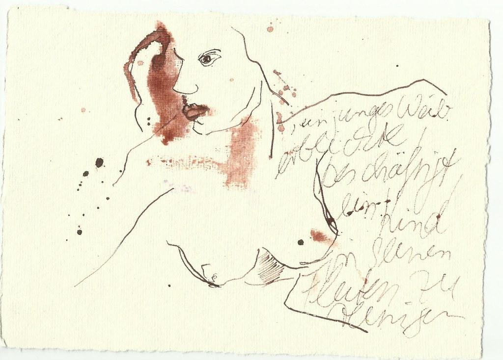 Poststrukturalismus (c) Zeichnung von Susanne Haun