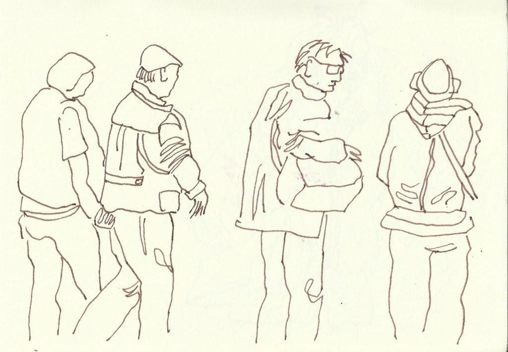 Rom (c) Zeichnung von Susanne Haun
