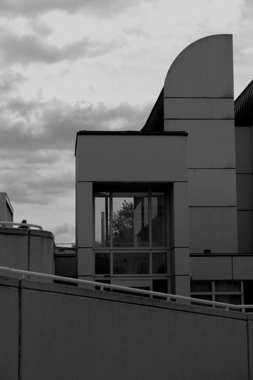 Bauhausarchiv Berlin s-w (c) Foto von Susanne Haun
